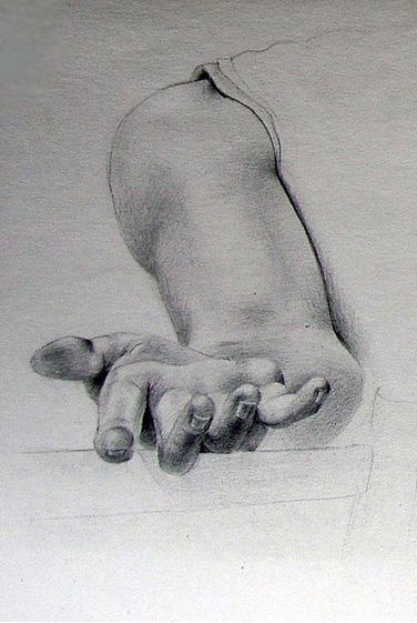 Kresba Studie Ruky