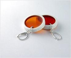 Oranžový dárek - šperk\