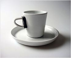 Kafíčko - design šálku na kávu\