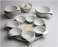 Salátový set - design misek\