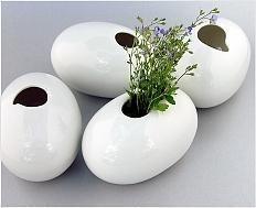 Oblázky - design malých stolních váziček\