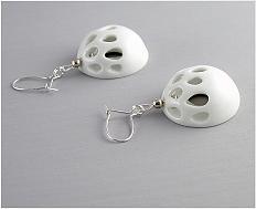 Kapka porcelánu - šperk\